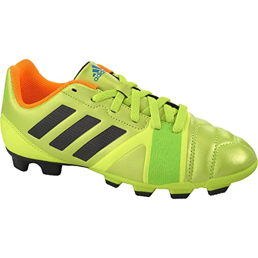 Adidas Kid's 'Nitrocharge 3.0 TRX FG J' Soccer Cleats (5M, Slime Black