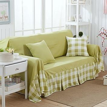 Four Seasons Sofa Covers,Simple Modern Sofa Slipcover Plain Fluid Systems  Living Room Dust