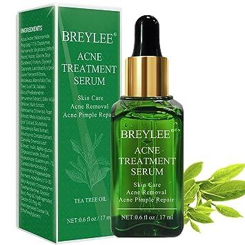 Amazon Com Acne Treatment Serum Breylee Tea Tree Clear Skin