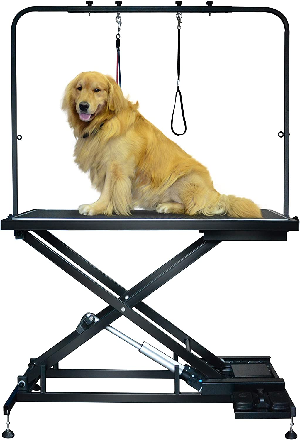 SHELANDY Pet grooming table electric & lift dog table