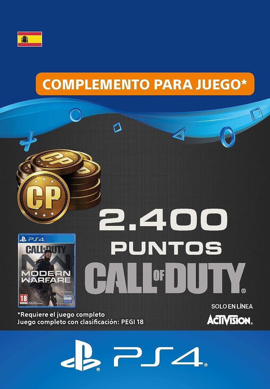 Call of Duty : Modern Warfare 2400 Points | Código de descarga PS4 ...
