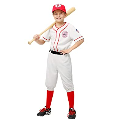 Child A League of Their Own Jimmy Costume Children's Jimmy Dugan Costume: Clothing
