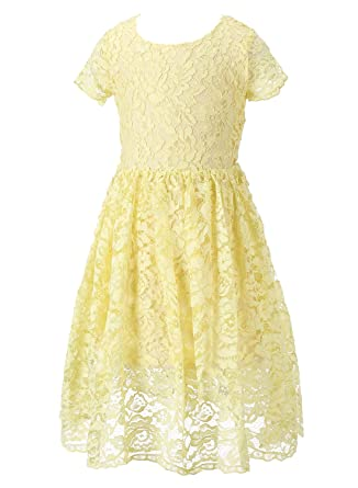 Yellow Country Dresses