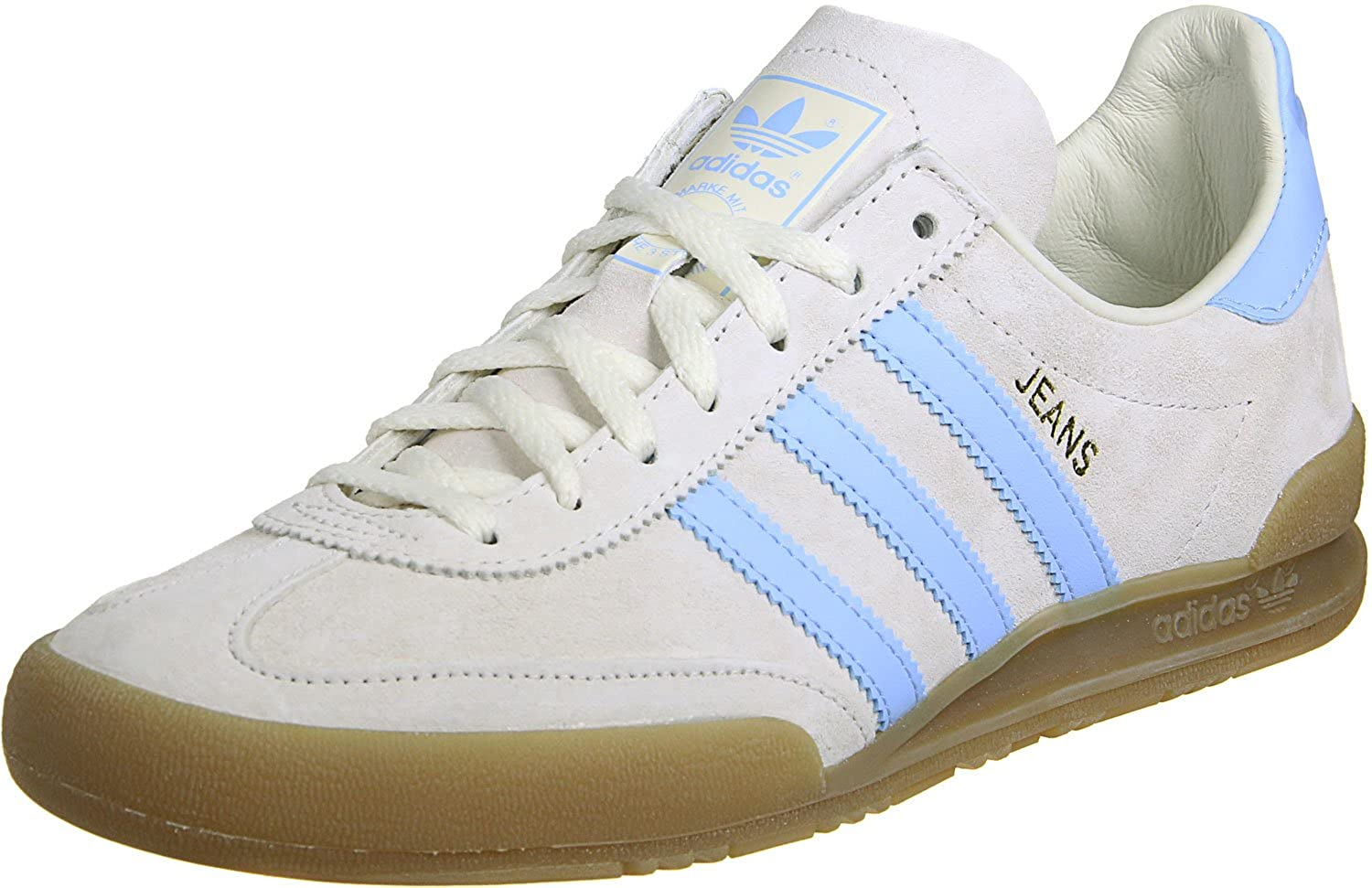 first rate quality design huge discount Adidas Jeans S79998 in Clear / Sky Blue / Gum (UK13): Amazon ...