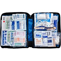 First Aid Only 299-Piece First Aid Kit with Soft Case & Zipper (Blue)