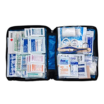 First Aid Only All-purpose First Aid Kit, Soft Case with Zip...