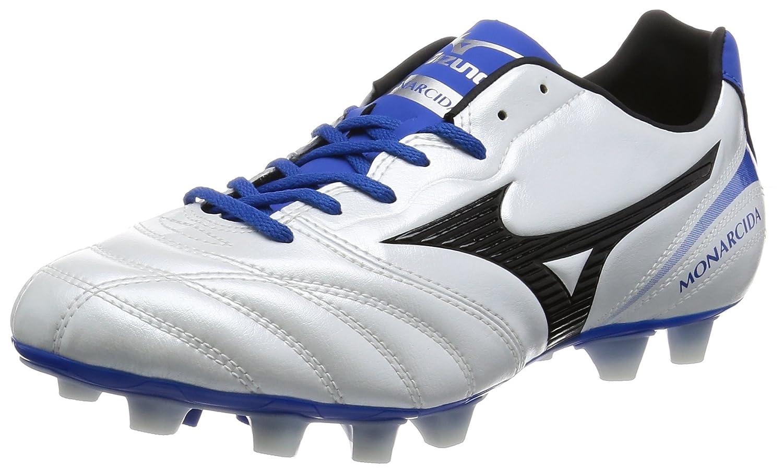 [ミズノ] サッカースパイク モナルシーダ2 SW MD(旧モデル) B01N0QLFDN 24.5 cm|スーパーホワイトパール/ブラック/ブルー スーパーホワイトパール/ブラック/ブルー 24.5 cm