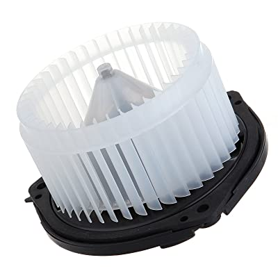 on sale SCITOO ABS plastic Heater Blower Motor w/Fan HVAC Resistors Blowers Motors Replacement fit for 2004-2007 Chevrolet Monte Carlo /2002-2003 Oldsmobile Aurora /2004-2008 Pontiac Grand Prix Front