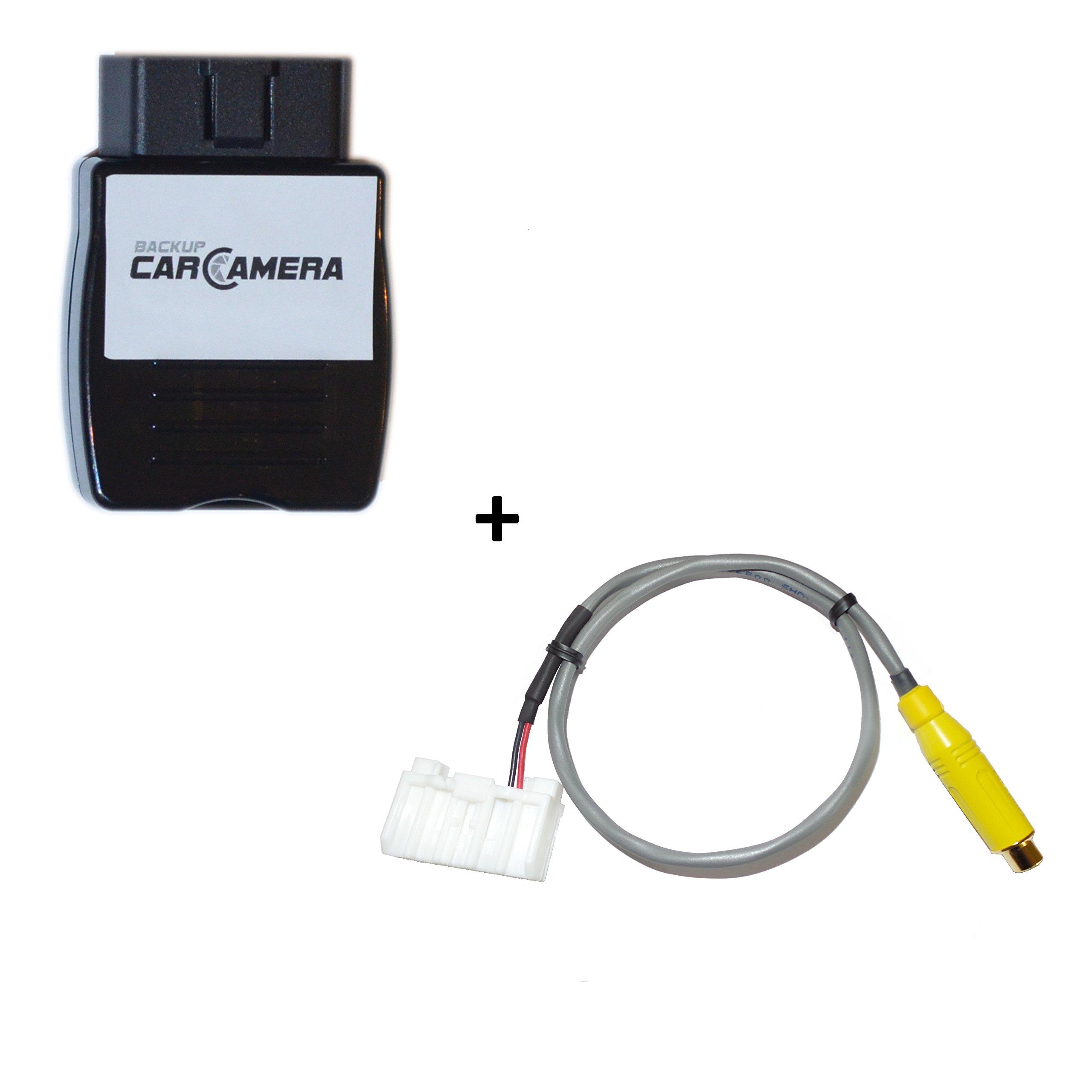 Jeep Wrangler JK Backup Camera OEM Radio Interface Kit, Video Harness & Programmer for MyGIG Factory Radios (RB2 RBZ REN REW REP RER REZ RHB RHR RHW RHP) & All Models (Sport Sahara Rubicon Unlimited)