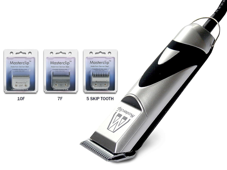 Haarschneidemaschine Hundeschermaschine für Cocker Spaniel mit 3 Deutsch Stahl A5 Klingen