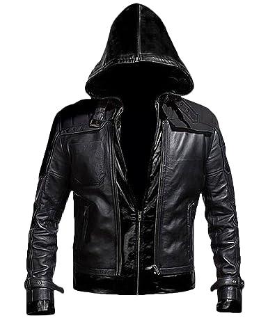 Batman Arkham Knight Red Hood Leather Jacket