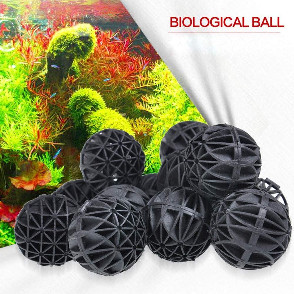 50x Aquarium Pond Bio Balls 16mm Canister Filter Media Marine Reef Sump Fish