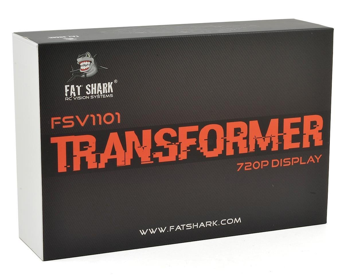 Fat Shak FSV1101 Transformer 720P Display HD Monitor by Fat Shark