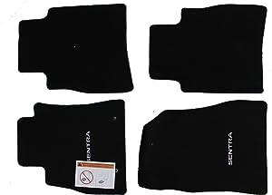 Genuine Nissan Accessories Custom Fit Carpeted Floor Mat - (Black) (999E2-LZ000)