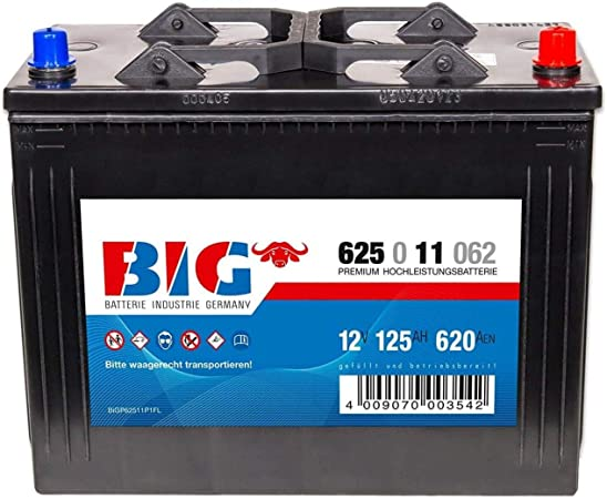 Big Nutzfahrzeugbatterie 12v 125ah 620a Lkw Batterie Elektronik
