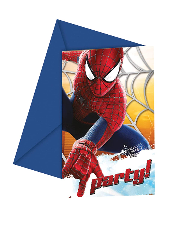 The Amazing Spiderman 2 Fiesta Invitaciones Tarjetas