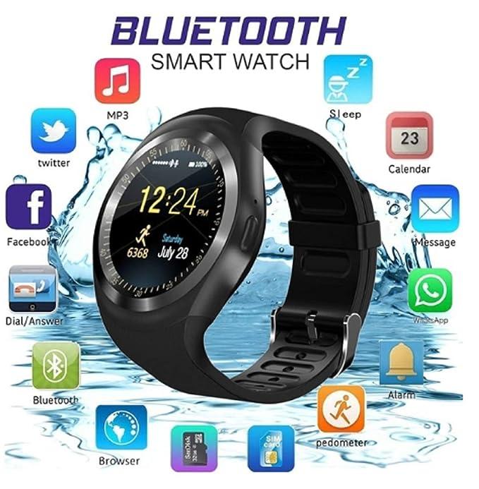Loveje Smartwatch Pantalla táctil con cámara impermeable a prueba ...