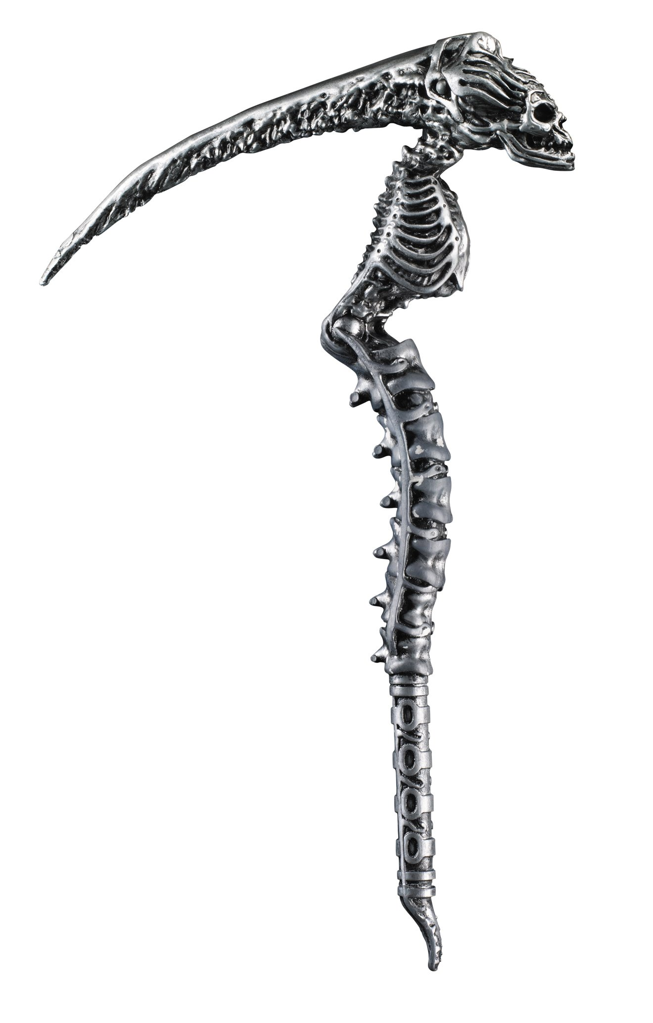 Disguise Men's Sin Scythe Costume Accessory, Silver, Adult by Disguise