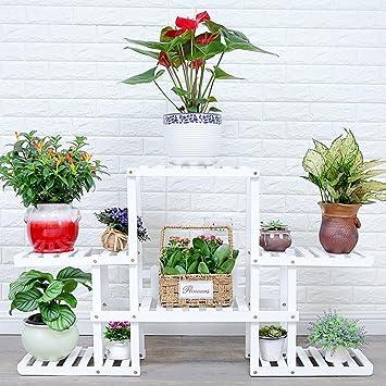 Uberlegen Blumenständer ZXLDP Flower Rack/Multilayer Holz Display Stand/Moderne  Minimalist/Home Garten Terrasse