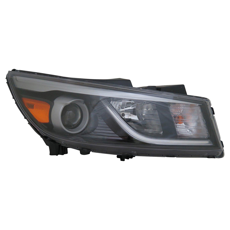 Partslink Number KI2503183 Multiple Manufacturers KI2503183N OE Replacement KIA SEDONA Headlight Assembly