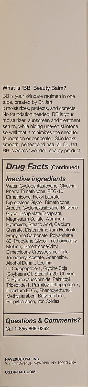 Black Label Detox BB Beauty Balm by Dr Jart+ #17