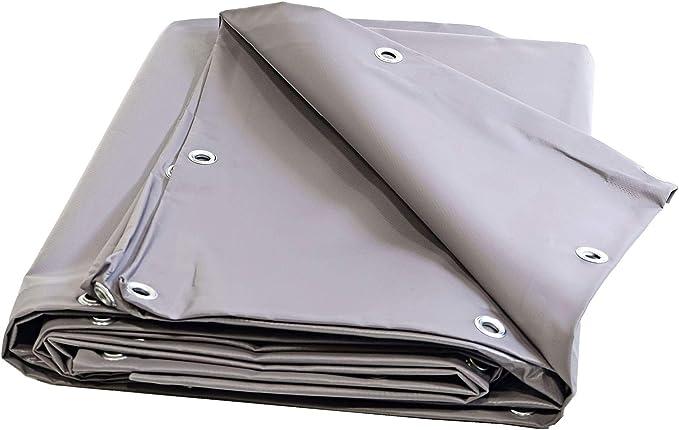 Toldo Pergola PVC 900 G/m² – 2 x 3 m – gris – lona impermeable