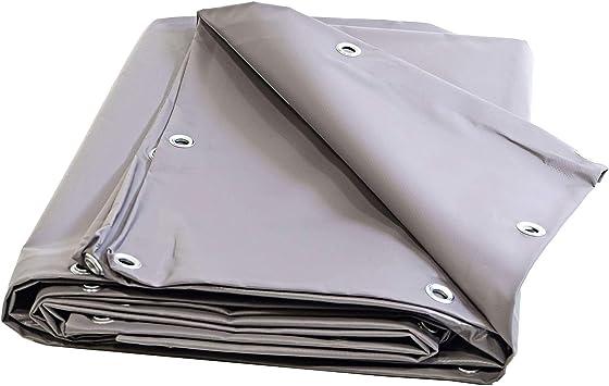 Toldo Pergola PVC 900 G/m² – 6 x 5 m – gris – lona ...