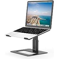 BoYata laptopstandaard, in hoogte verstelbare, geventileerde laptophouder, notebookstandaard compatibel met 10-15,9…
