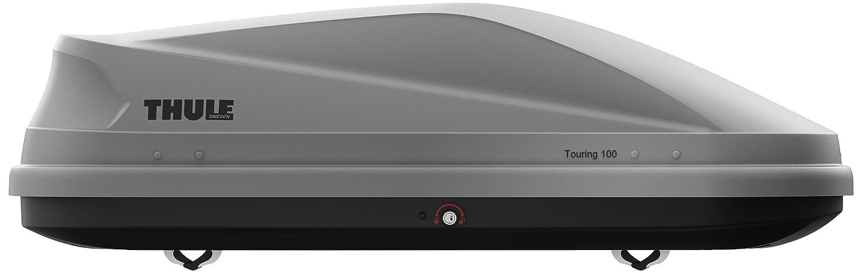 THULE スーリー ルーフボックス TH6341 ツーリング Touring S(100) チタン エアロスキン B00IN0TUXM S(100)|チタンエアロスキン チタンエアロスキン S(100)