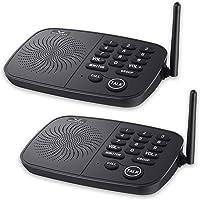 Wireless Intercom System Hosmart 1/2 Mile Long Range 10-Channel Security Wireless Intercom System for Home or Office…
