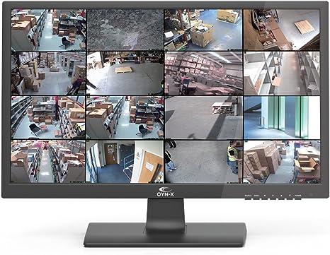 OYN-X 21-hdmibncp 21 Pulgadas LED de Seguridad CCTV Monitor/HDMI/BNC/VGA Panel de Seguridad – Negro: Amazon.es: Electrónica