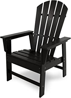 product image for POLYWOOD SBD16BL South Beach Dining Chair, Black