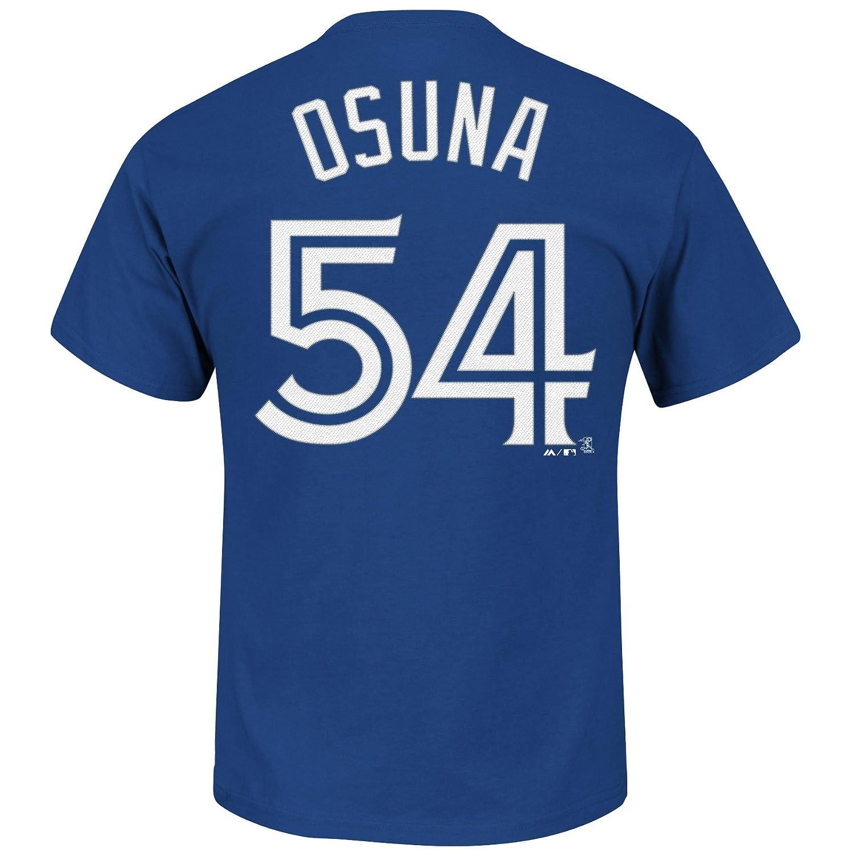 439ff93a Toronto Blue Jays Roberto Osuna MLB Player Name & Number T-Shirt - Size  Large, Fan Shop - Amazon Canada