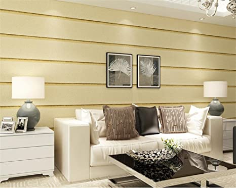 Piastrelle semplici in marmo in pvc verniciato a strisce soggiorno