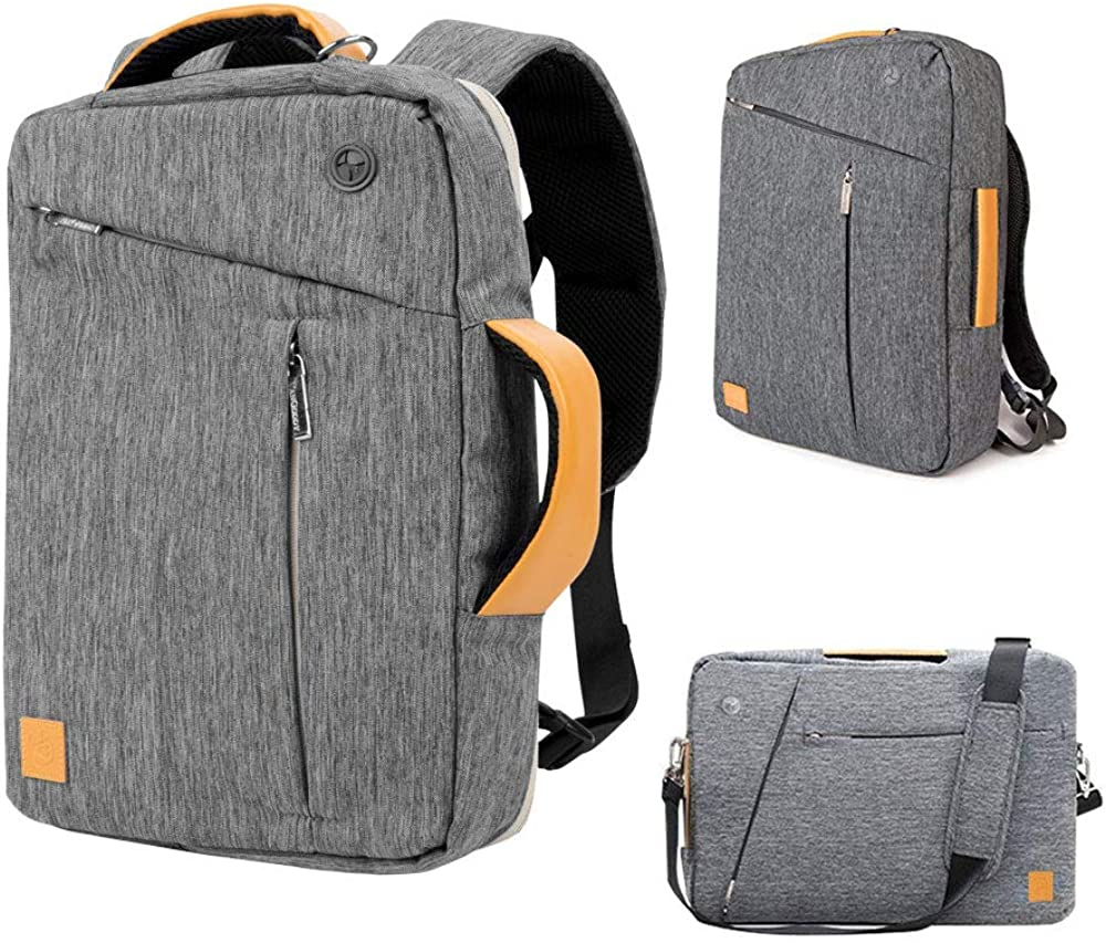 Travel Work College School Backpack for Men Women 13 inch 15 inch 16 inch 17.3 inch Water Resistant Messenger Shoulder Bag