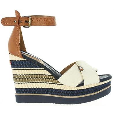 White Femme 41 Wrangler Wl171662 Chaussures Compensées OnNvm80wPy