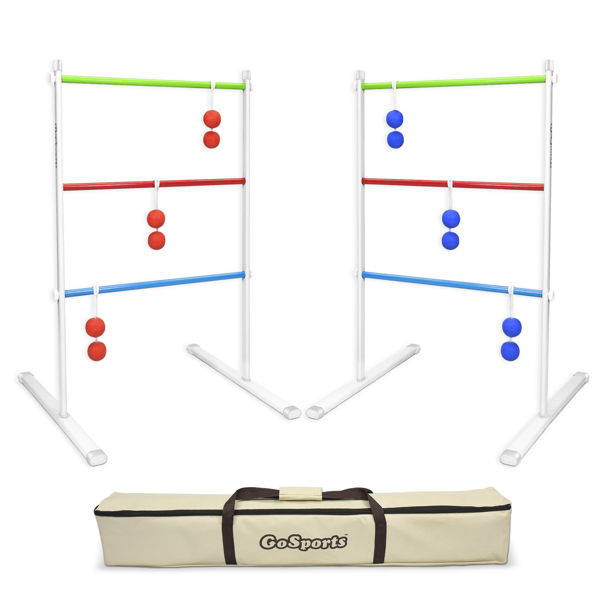 GoSports Premium Metal Ladder Toss Game Set by GoSports