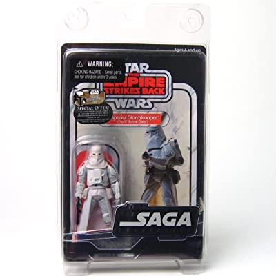 Star Wars: The Saga Collection Vintage Imperial Snowtrooper (Hoth Battle Gear) 3.75 Inch: Toys & Games