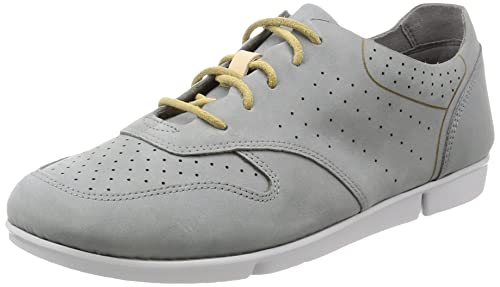 Clarks Tri Actor - Grey Blue (Leather) Womens Trainers 4 UK