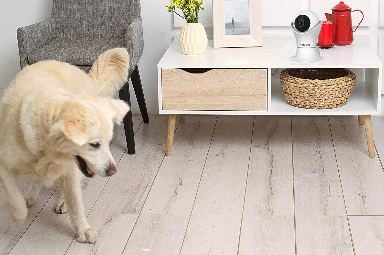 VINSION HD 1080p Pet Camera,Dog Camera 360° Pet Monitor Indoor Cat Camera with Night Vision and Two Way Audio 8