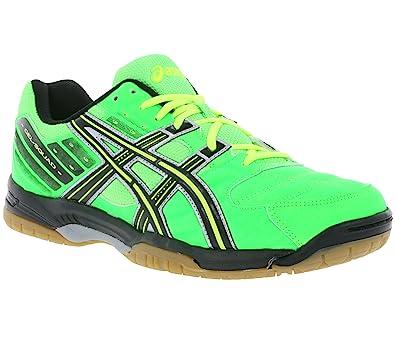 8eacce65df57 ASICS Men s Handball Shoes neongrün schwarz Size 49 EU  Amazon.co.uk ...