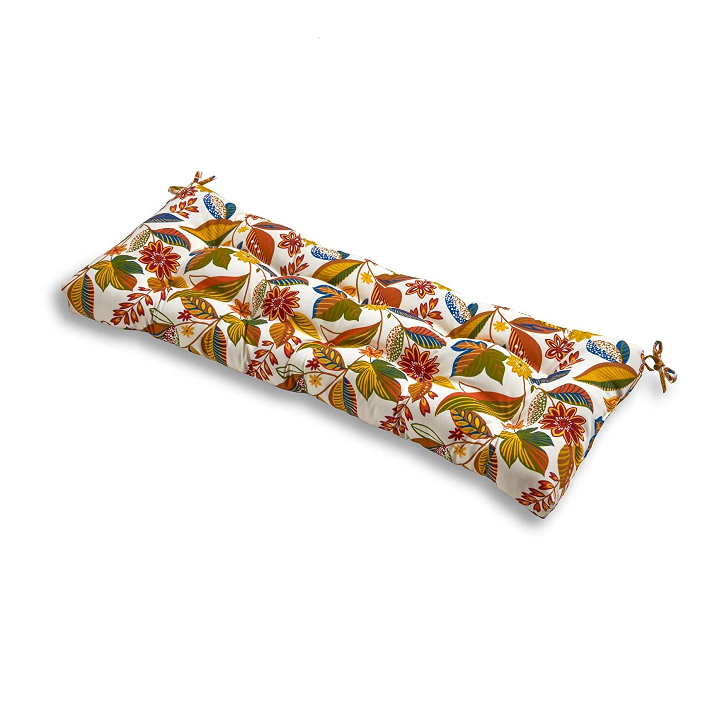 Amazon.com: Greendale Home Fashions Indoor/Outdoor Bench Cushion ...