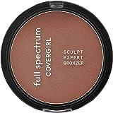 Covergirl Full Spectrum Sculpt Expert Bronzer, Ebony, 0.39 Oz