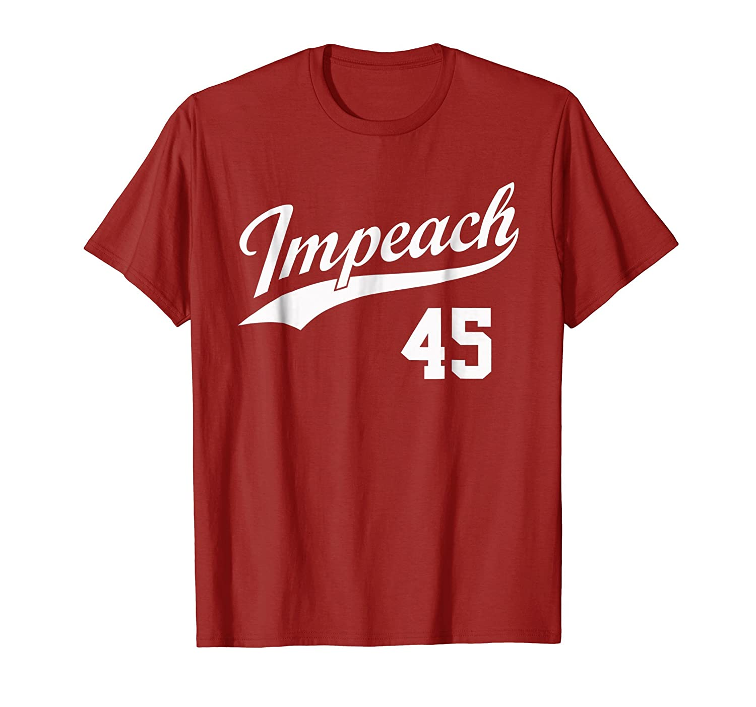 Team Impeach 45 - Impeach Trump T-Shirt-mt