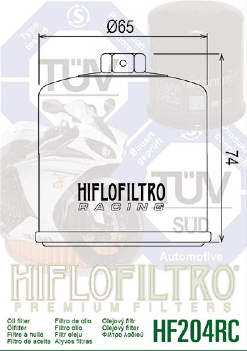 /2006/HF204RC NEU sandfarben Moto Kawasaki 600/ZX6R 2002/ /Ölfilter Hiflo /™ Racing