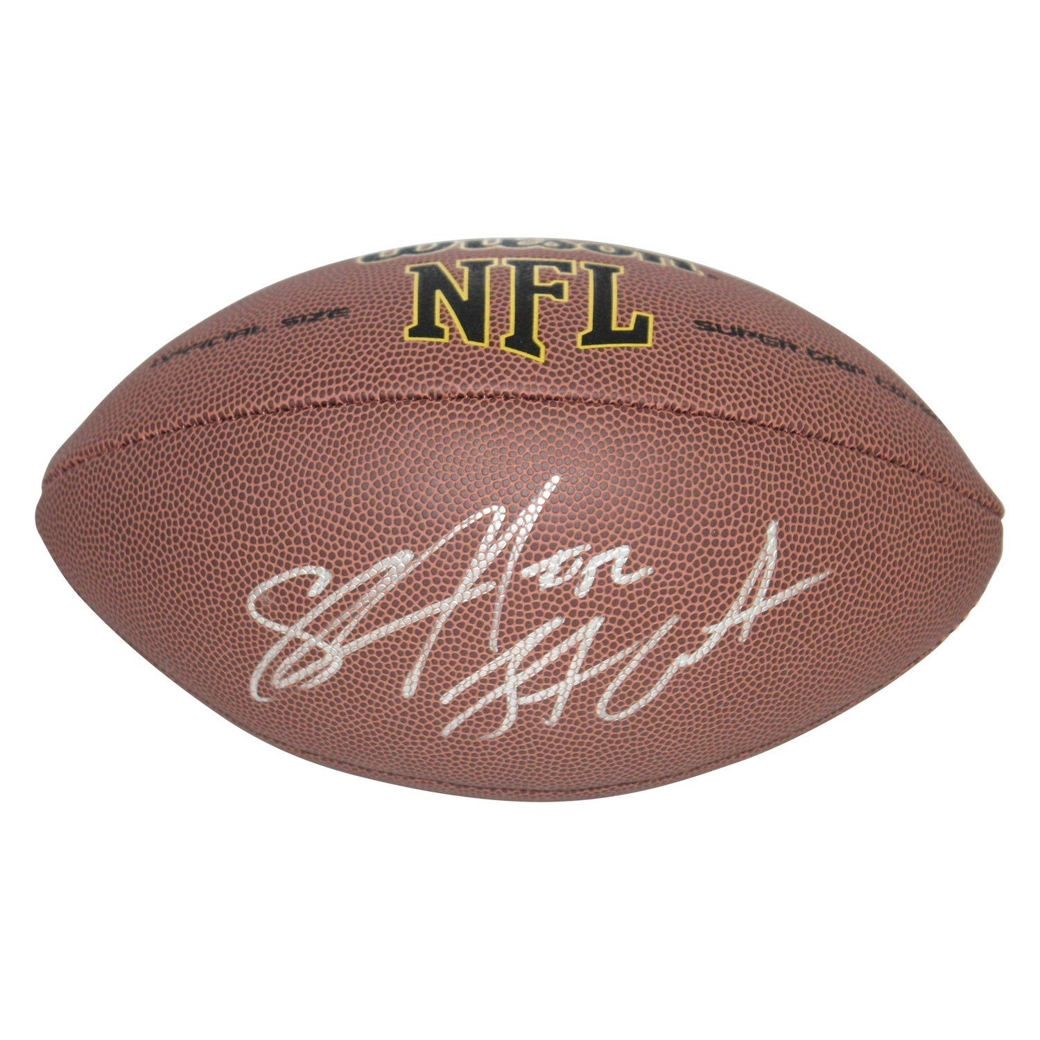 Shawne Merriman Los Angeles Chargers Autographed Signed Wilson NFL Super Grip Football - Certified Authentic