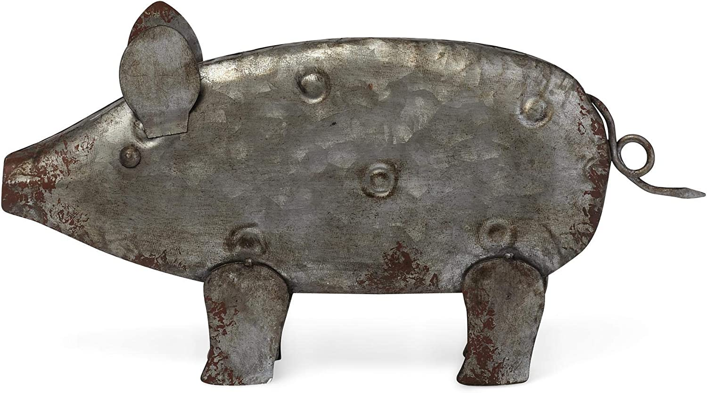 Imax Galvanized Pig
