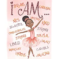 I Am: Positive Affirmations for Kids   Coloring Book for Young Black Girls   African American Children   Self-Esteem and…