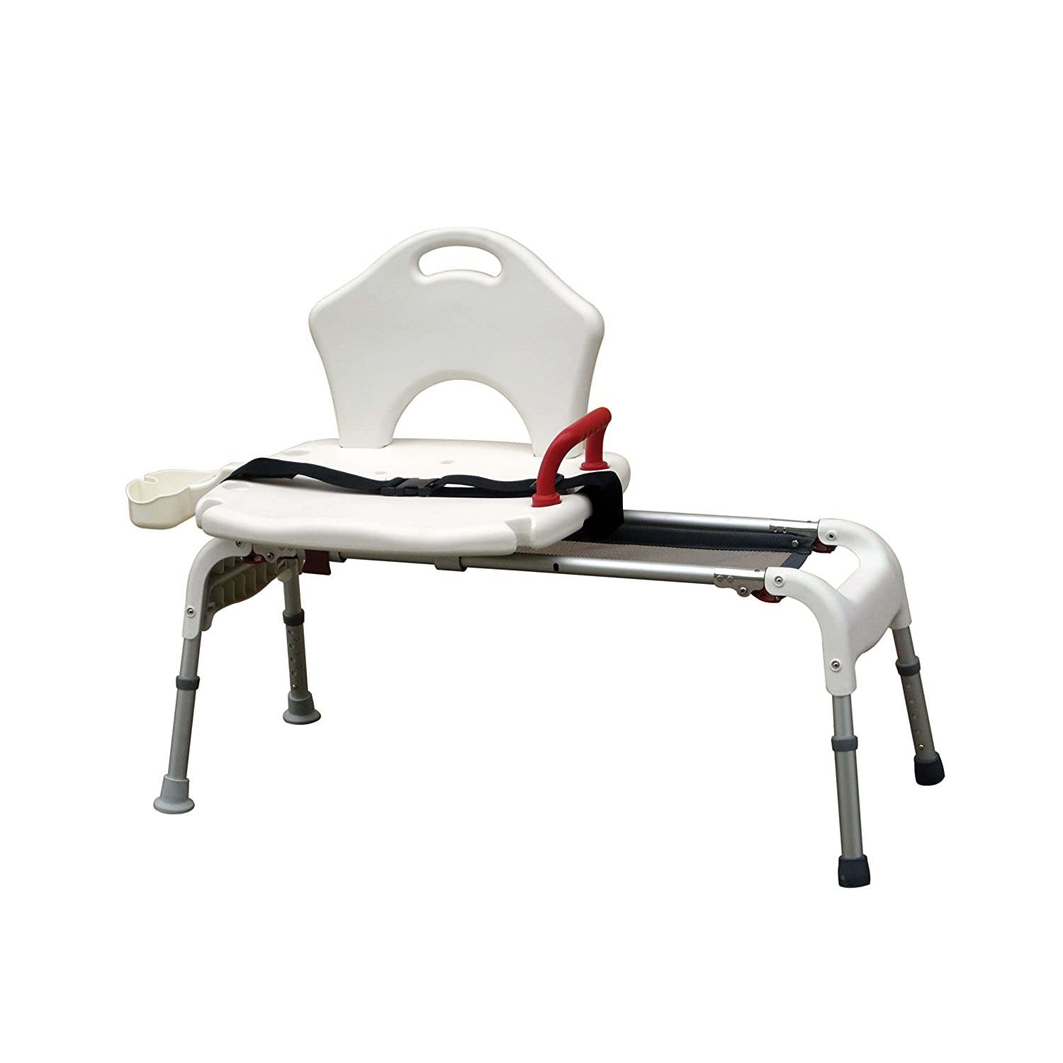 Amazon.com: Drive Medical Folding Universal Sliding Transfer Bench ...