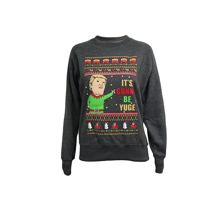 Reindeer Darth Vader Christmas Mens Womens Sweater Xmas Present SweatShirt